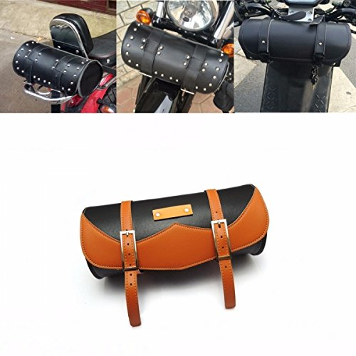 Motorcycle Fork Bag Sissy Bar Tool Bag Luggage Handlebar Bag Roll Shape Storage