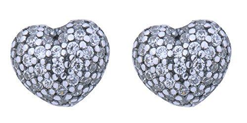 Pandora - Orecchini a lobo da donna, argento sterling 925, cod. 290541CZ