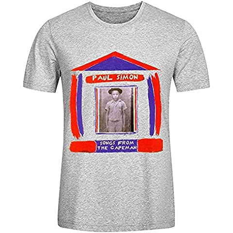 Paul Simon Songs From The Capeman Design Your Own T Shirts Mens Round Neck XXXX-L