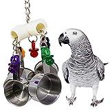 UMIWE Jouet de Morsure de Cage de Perroquet Oiseau d'animal Familier de Jouet...