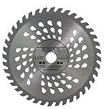 Kreissägeblatt für Handkreissägen, hochwertig, für Holzarbeiten, 180 x 20mm, mit 16-mm-Ring, 40Zähne