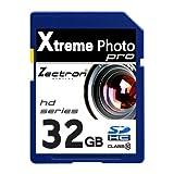 Zectron 32Go SD SDHC haute vitesse Zectron Digital Camera carte mémoire pour Lexibook Spiderman DJ050SP Digital Camera caméscope vidéo...