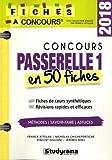 Coucours Passerelle 1 : 50 fiches méthodes, savoir-faire et astuces