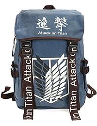 CoolChange Mochila Grande de Attack on Titan con Logo de la Legion de  reconocimiento 1078cb4c469e