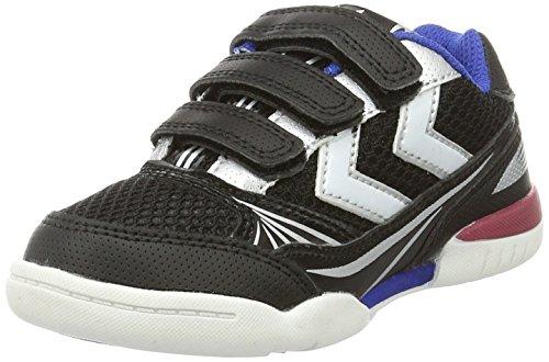 Hummel Root Jr Velcro, Chaussures de Fitness Mixte Enfant Noir (Black)
