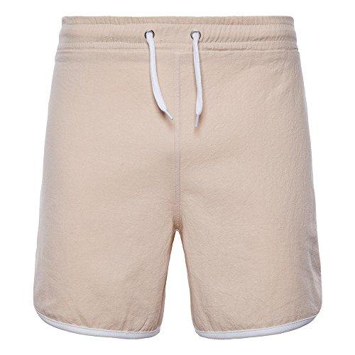 Womens Fitted Unterhemd (Atmungsaktiv Herren Sport Shorts Fitness Jogger Laufhose Training Jogging Hosen Bermuda Cargo Short Capri Hose Kurze 1/2 Sommer Stretch Freizeit Trousers Pants Laufen Fitness)