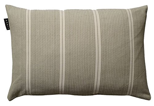 Linum Kissenhülle JIN G36 Khaki 40cm x 60cm aus Baumwolle mit Reißverschluss
