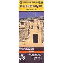 Carte routière : Mozambique (en anglais)