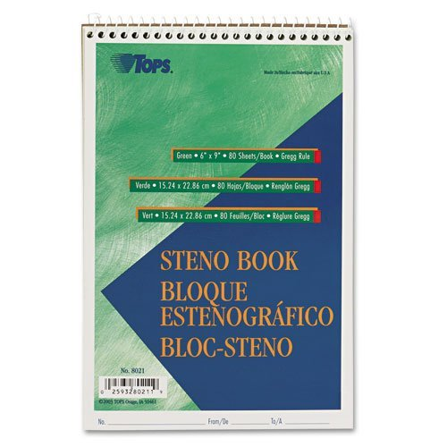 tops-products-gregg-steno-books-6-x-9-green-tint-80-sheet-pad-8021-by-tops