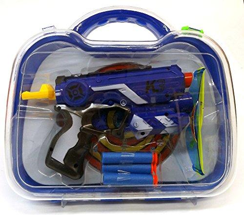 Brigamo 555 - Dartblaster Elite K3 Spielzeugblaster Set inklusive Koffer thumbnail