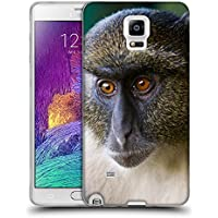 Super Galaxy Soft Flexible TPU Slim Fit Cover Case // V00003899 sykes monkey mount kenya // Samsung Galaxy Note 4 IV
