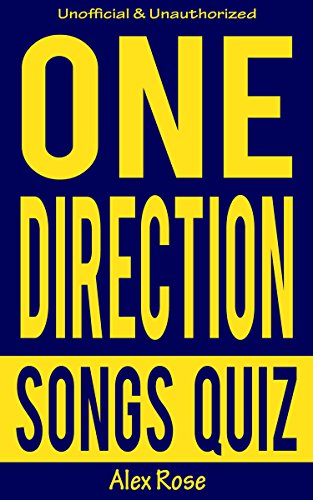 ongs Quiz SUPER PACK (Vol. 1-4): Songs from One Direction albums - UP ALL NIGHT, TAKE ME HOME, MIDNIGHT MEMORIES and FOUR Included! (English Edition) ()