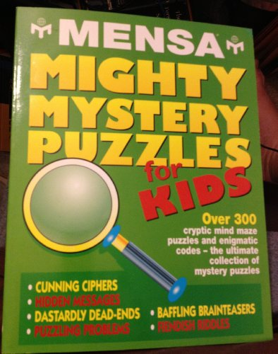Mensa mighty mystery puzzles for kids