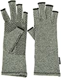 IMAK Active Arthritis Compression Gloves (Grey, Small)