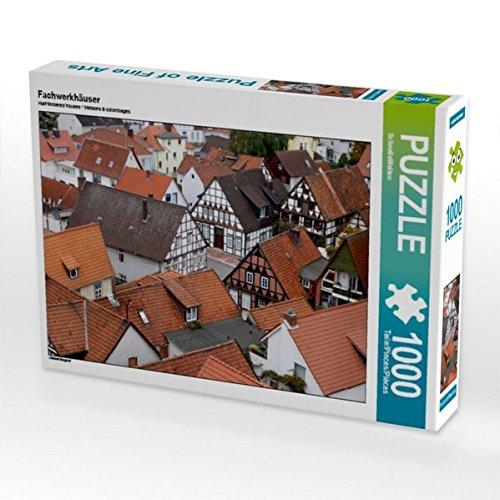 Fachwerkhäuser 1000 Teile Puzzle quer: Altstadt Burgdorf (CALVENDO Orte)