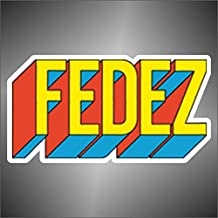 Adesivo Fedez hip hop rap jazz hard rock pop funk sticker 1076dfda03a3