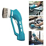 Power Scrubber Cleaning Brushes Bath Brush Cleaner Cordless Automatic Spin Electric Scrubbers Portable Brush Kit with Rechargeable and 3 Stainless Steel Brushes Household handheld for BBQ Grill,Bathroom,Kitchen and Outdoor …