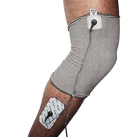 Axion - Bandage d'électrostimulation de genou contre l'arthrose - compatible uniquement avec Sanitas SEM 40/41/42/43/44 et Beurer EM40/EM41/EM49/EM80