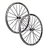 Vuelta Juego Ruedas Bicicleta Carreras 28 Pulgadas Pro Lite 20 24 710 Negro