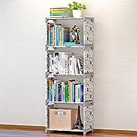 HUANGMENG Book Rack Children Bookshelf Storage Shelve Book Rack Bookcase for Home Furniture(Pink)