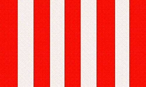 U24 Fahne Flagge Rot-Weiß gestreift Streifen 90 x 150 cm