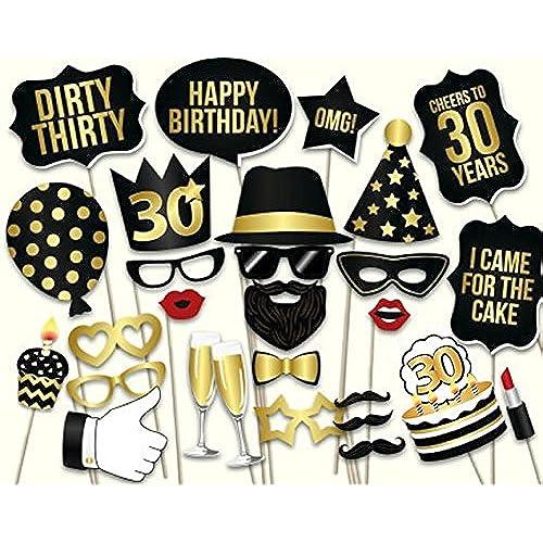 30th Birthday Party Decorations: Amazon.co.uk