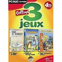 Coffret Tri-pack Justine l'étrange animal + Le voyage de Plume + Maya 2