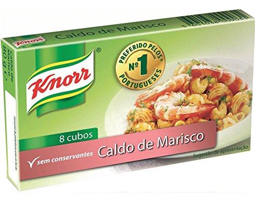 Meeresfrüchte Brühwürfel - Knorr 80g (8x 10g)