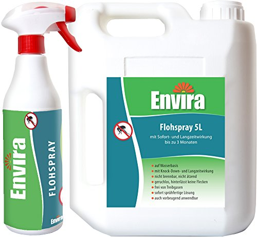 ENVIRA Flöhe bekämpfen 500ml und 5Ltr