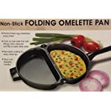 Cpixen Non Stick Folding Omelette Pan