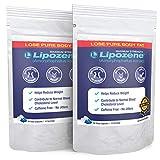 Lipozene - Suplemento dietético para adelgazar - Supresor del apetito - Dos frascos con 60 cápsulas en total