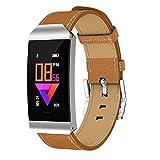 Wysgvazgv Smart Armband Uhr mit Pulsmesser, Fitness Tracker Aktivitätstracker Smartwatch IP67 Farbbildschirm Pulsuhren Schrittzähler Schlafmonitor Blutdruckmonitor Anruf SMS iOS Android Damen Herren