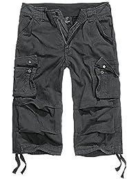 Brandit Urban Legend 3/4 Pantalones Cortos Negro tamaño S