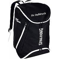 Spalding Basketball Rucksack schwarz/weiß mit Aufdruck Name