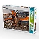 CALVENDO 4059478941038 Kreidler Florett 2000 Teile Lege-Größe 90 x 67 cm Foto-Puzzle Bild, Weiß