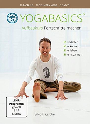 YOGABASICS Aufbaukurs: 10 Stunden Yoga für Anfänger und Fortgeschrittene (5 DVDs)