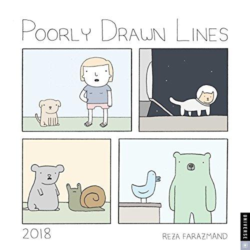 Poorly Drawn Lines 2018 Calendar
