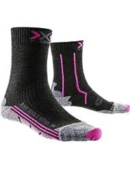X-Socks Double Invent Mid Lady Chaussettes de Randonnée Femme
