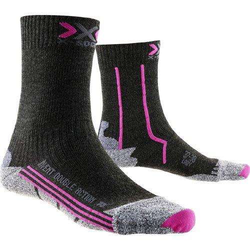 X-Socks - X100053 - Double Invent Mid Lady - Chaussettes de Randonnée - Femme