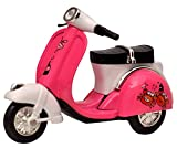 #5: Playking Die Cast Metal Scooter Vehicle Toy With Pull Back Action and Workable Steering - Color and Design May Vary - Pack of 1