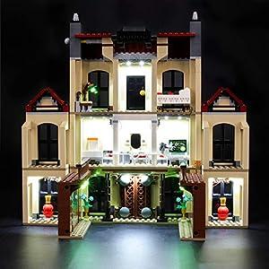 BRIKSMAX Kit di Illuminazione a LED per Lego Attacco dell'indoraptor al Lockwood Estate, Compatibile con Il Modello Lego… Lego Outlet LEGO