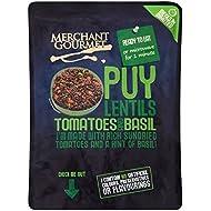Merchant Gourmet Lentejas Puy Con Tomates Secados Al Sol Y Albahaca 250g (Paquete de 2)