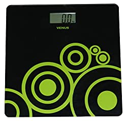 Venus Electronic Bathroom Scale (Black)