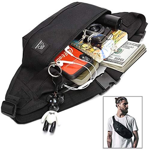 Geld Bauchtasche Outdoor Urlaub Aktivitäten Geldbörse Reißverschluss Tasche