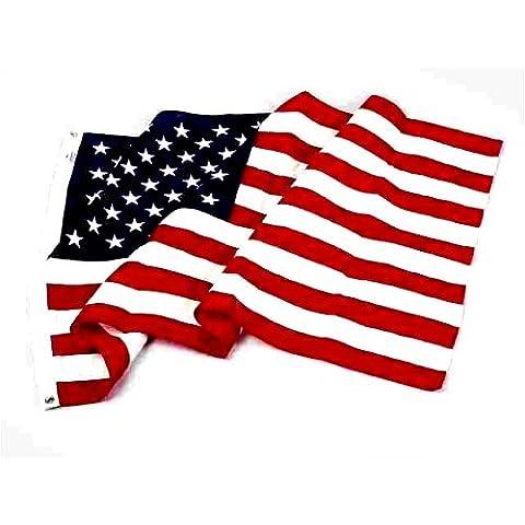 Valley Forge bandera US5PN - cm 152,4 porciento ' Nylon nosotros bandera