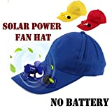 VOLTAC Baseball Hat/Cap with Solar Powered Cooling Fan (Assorted Color) Model 414737