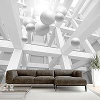 murando - Fototapete 150x105 cm - Vlies Tapete - Moderne Wanddeko - Design Tapete - Wandtapete - Wand Dekoration - Abstrakt 3D Optik Kugeln a-C-0029-a-a