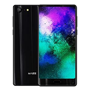 MAZE Alpha X 4G Smartphone 6 inch 18:9 FHD Screen 1080*2160pixel Android 7.0 Helio P25 Octa-core 2.5GHz 6GB RAM 64GB ROM 13MP+8MP Type-C 3900mAh Fingerprint Mobilephone-Black