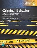 Criminal Behavior: A Psychological Approach, Global Edition