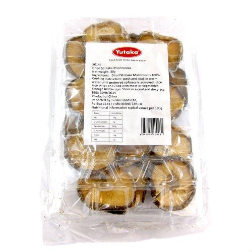 Dried Shiitake Mushrooms Test